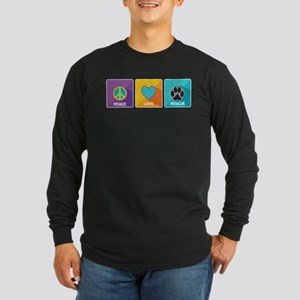 Peace, Love, Rescue Long Sleeve T-Shirt