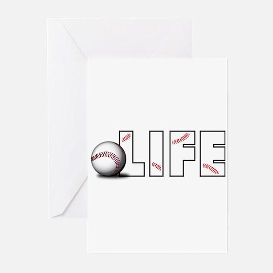 Baseball Life Greeting Cards