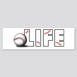 Baseball Life Bumper Sticker