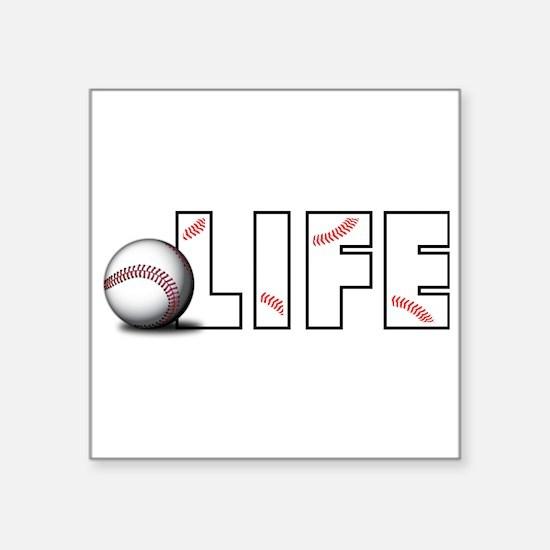 Baseball Life Sticker