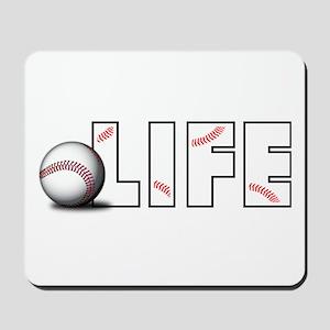 Baseball Life Mousepad