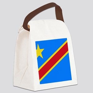 DOMINICAN REPUBLIC OF THE CONGO F Canvas Lunch Bag