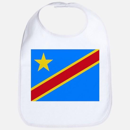 DOMINICAN REPUBLIC OF THE CONGO FLAG Bib