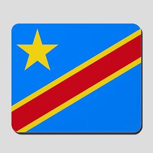 DOMINICAN REPUBLIC OF THE CONGO FLAG Mousepad