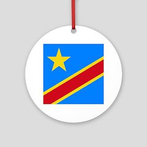 DOMINICAN REPUBLIC OF THE CONGO F Ornament (Round)