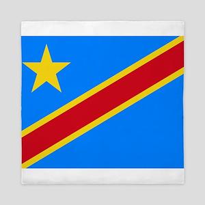 DOMINICAN REPUBLIC OF THE CONGO FLAG Queen Duvet