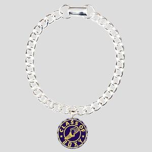 Class of 20XX Track Charm Bracelet, One Charm