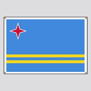 ARUBA FLAG Banner