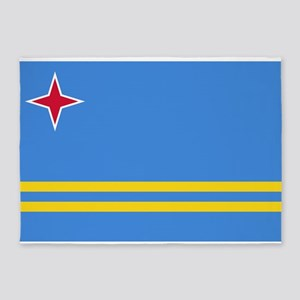 ARUBA FLAG 5'x7'Area Rug