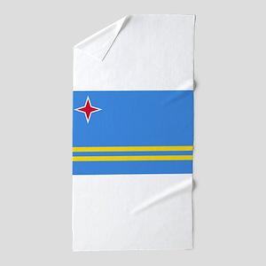 ARUBA FLAG Beach Towel
