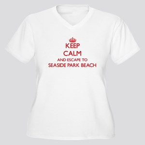 Keep calm and escape to Seaside Plus Size T-Shirt