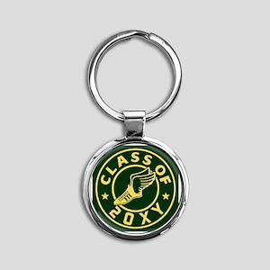 Class of 20XX Track Round Keychain