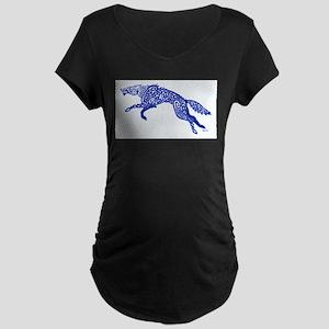 Blue Wolf Maternity T-Shirt