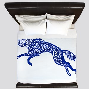 Blue Wolf King Duvet