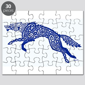 Blue Wolf Puzzle
