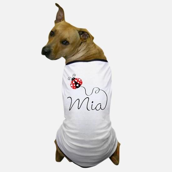 Ladybug Mia Dog T-Shirt