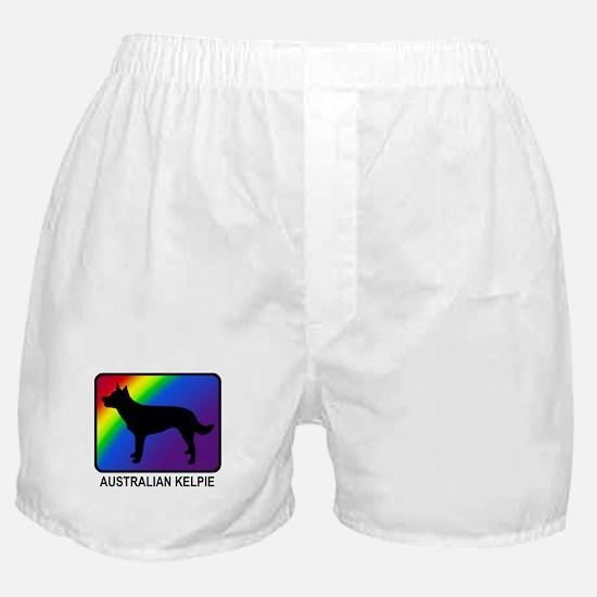Australian Kelpie (rainbow) Boxer Shorts