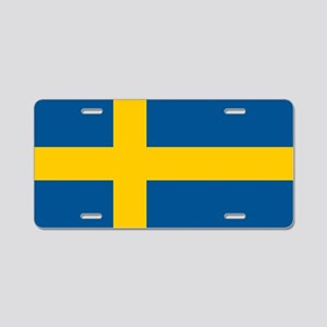 SWEDEN Aluminum License Plate