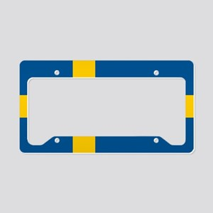 SWEDEN License Plate Holder