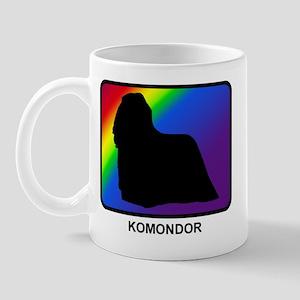 Komondor (rainbow) Mug