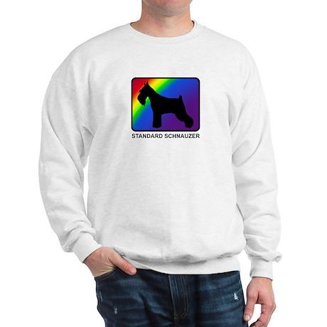 Standard Schnauzer (rainbow) Sweatshirt