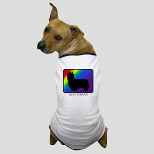 Silky Terrier (rainbow) Dog T-Shirt