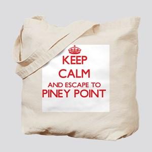 Keep calm and escape to Piney Point Massa Tote Bag