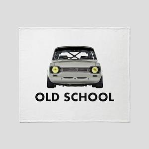 Old School Throw Blanket