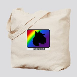 Schnoodle (rainbow) Tote Bag