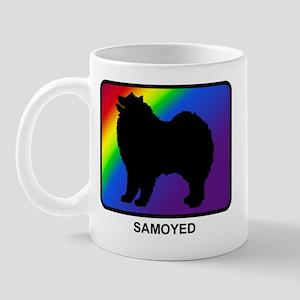 Samoyed (rainbow) Mug