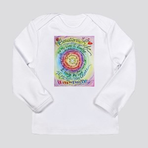 Beauty in Life Cancer Support Poem Long Sleeve T-S