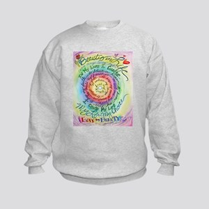 Beauty in Life Cancer Support Poem Sweatshirt