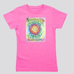 Beauty in Life Cancer Support Poem Girl's Tee
