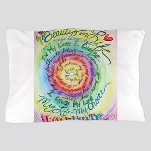 Beauty in Life Cancer Support Poem Pillow Case