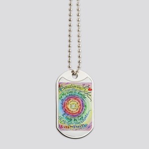 Beauty in Life Cancer Support Poem Dog Tags