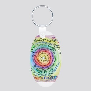 Beauty in Life Cancer Support Poem Keychains