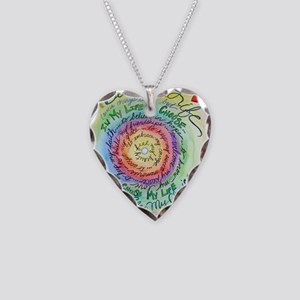 Beauty in Life Cancer Support Poem Necklace