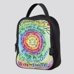 Beauty in Life Cancer Support Poem Neoprene Lunch