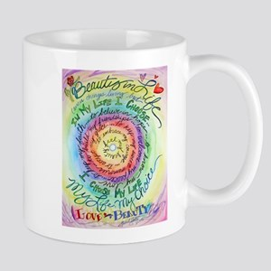 Beauty in Life Cancer Support Poem Mugs