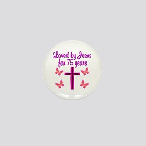 RELIGIOUS 75 YR OLD Mini Button