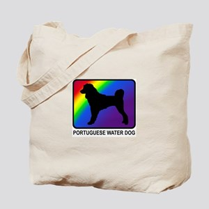 Portuguese Water Dog (rainbow Tote Bag