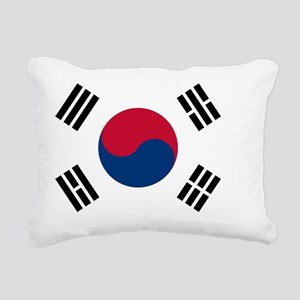 south korea flag Rectangular Canvas Pillow