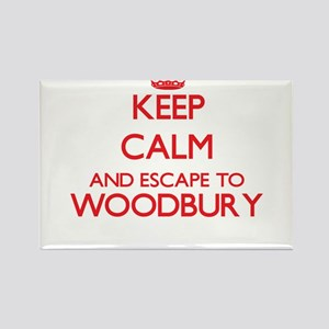 Keep calm and escape to Woodbury Massachus Magnets
