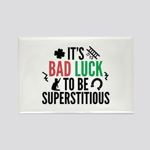 Superstitious Rectangle Magnet