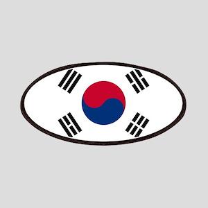 south korea flag Patch