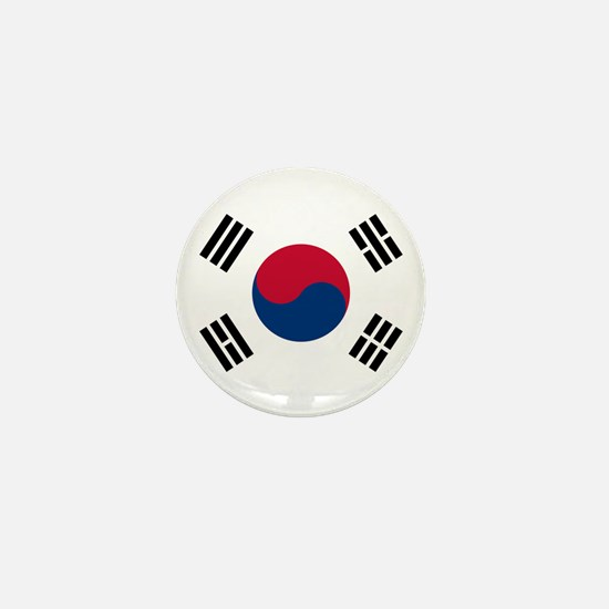 south korea flag Mini Button