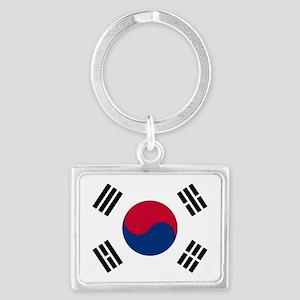 south korea flag Keychains