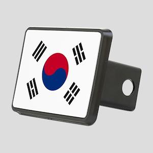south korea flag Rectangular Hitch Cover