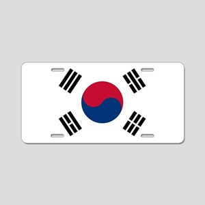 south korea flag Aluminum License Plate