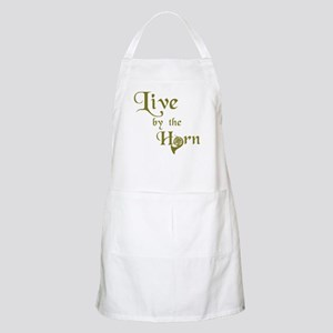Live By the Horn BBQ Apron